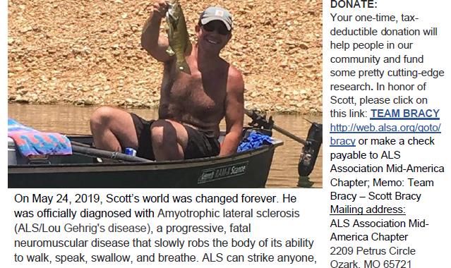 Scott Bracy – Walk To Defeat ALS