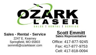 Ozark Laser Card