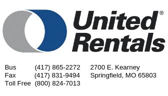 United Rentals Card
